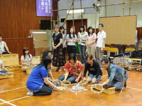 香港奧福音樂協會提供音樂教學法,身體樂器,敲擊樂器等服務
